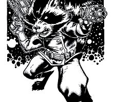 Rocket Raccoon by Callum Forster