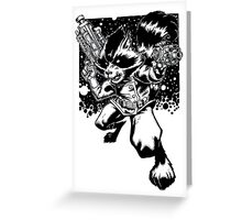 Rocket Raccoon Greeting Card