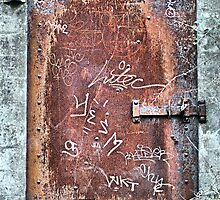 Bunker Door by Bob Wall