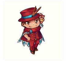 Apollo Justice - Magician Chibi Art Print