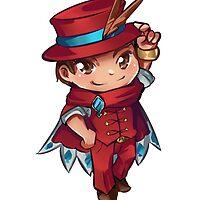 Apollo Justice - Magician Chibi by Puddor