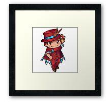 Apollo Justice - Magician Chibi Framed Print