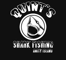 quints shark fishing amity island Funny Geek Nerd Unisex T-Shirt
