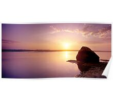 Sunrise Rock Poster
