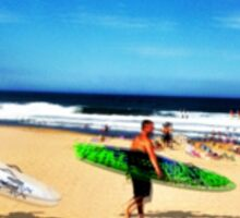 Surfers Austinmer New South Wales Australia Sticker
