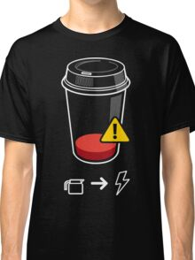 Refill Required Funny Geek Nerd Classic T-Shirt