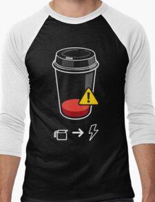 Refill Required Funny Geek Nerd Men's Baseball ¾ T-Shirt
