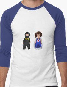 Ninja Sex Party  Men's Baseball ¾ T-Shirt