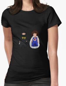Ninja Sex Party  Womens Fitted T-Shirt