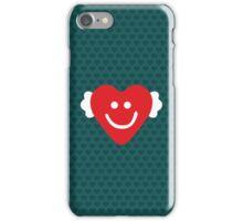 Cute Candy Heart - emerald iPhone Case/Skin