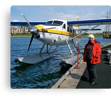 DHC-3-T Otter at Victoria Harbour, Canada. Canvas Print