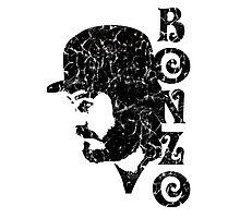 DISTRESSED BLACK BONZO Photographic Print