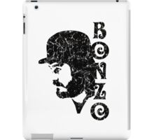 DISTRESSED BLACK BONZO iPad Case/Skin