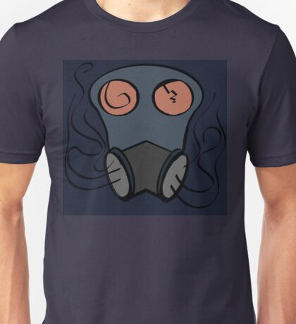 Abstract Gas Mask Unisex T-Shirt