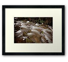 Strickland Falls, Hobart Framed Print