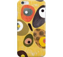 50s 60s style retro colourful design iPhone Case/Skin