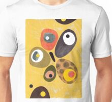 50s 60s style retro colourful design Unisex T-Shirt