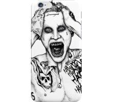 Beautiful Disaster - Joker (Jared Leto) iPhone Case/Skin