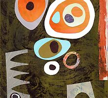 Rich colour retro simple shapes by bearoberts