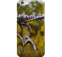 Dried vine tendril Sinclair's Gully vineyard iPhone Case/Skin