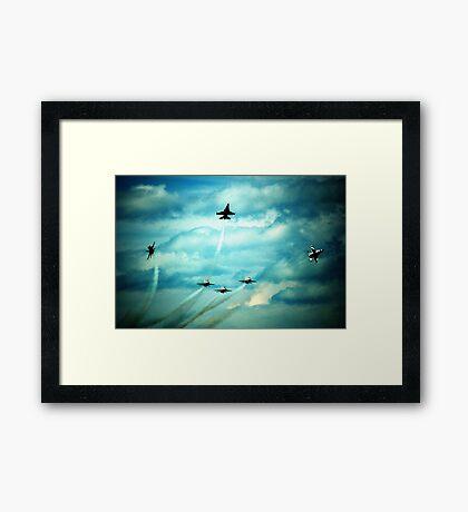 Air Force Thunderbirds  Framed Print