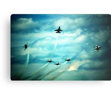 Air Force Thunderbirds  Metal Print