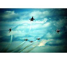 Air Force Thunderbirds  Photographic Print