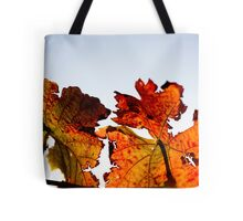 Red, red vine Tote Bag