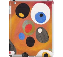 Retro abstract in rich warm colours iPad Case/Skin