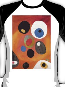 Retro abstract in rich warm colours T-Shirt