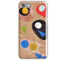 Funky retro style abstract iPhone Case/Skin