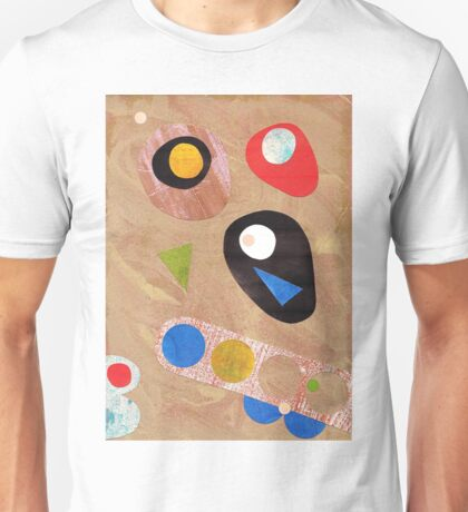 Funky retro style abstract Unisex T-Shirt