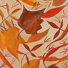 Swirling Leaves by Susan Rinehart