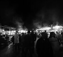 Marrakech Night Markets by Bad Monkey Photography