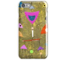 Retro highly patterned atomic iPhone Case/Skin