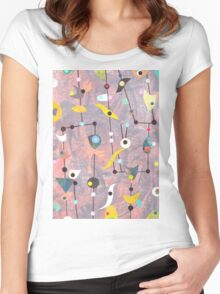 Retro Carnival no2 Women's Fitted Scoop T-Shirt