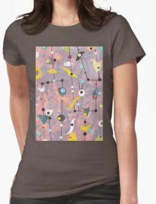 Retro Carnival no2 Womens Fitted T-Shirt