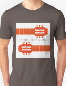 Sound of music guitar quote Unisex T-Shirt