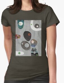 Cool Grey Womens Fitted T-Shirt