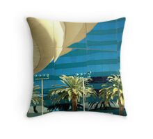 Reflections On The Illusion Throw Pillow