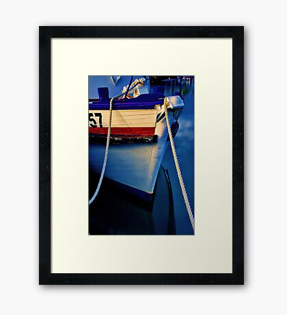 """The Bow"" Framed Print"