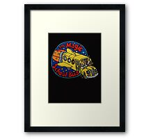 The Magic School Bus Framed Print
