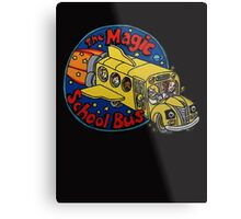 The Magic School Bus Metal Print