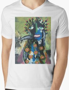 August 13 Number 4 Mens V-Neck T-Shirt