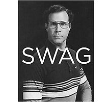 Will Ferrell Swagger Photographic Print