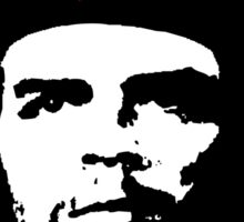 Che Guevara - Revolutionary, Murderer or just a T-shirt icon? Sticker