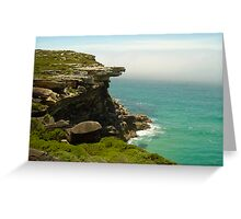 Eagle Rock, Royal National Park, NSW, Australia Greeting Card