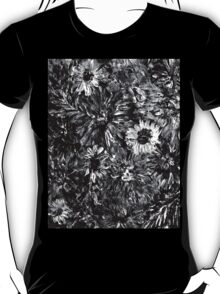 Dahlias and Daisies standing together 2 T-Shirt