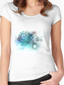 Psychedelic mind Women's Fitted Scoop T-Shirt