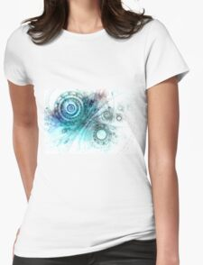 Psychedelic mind Womens Fitted T-Shirt